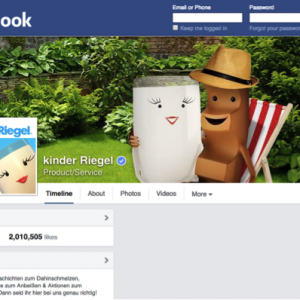 kinderRiegel – Facebook